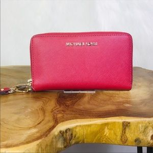 Michael Kors wallet with phone case